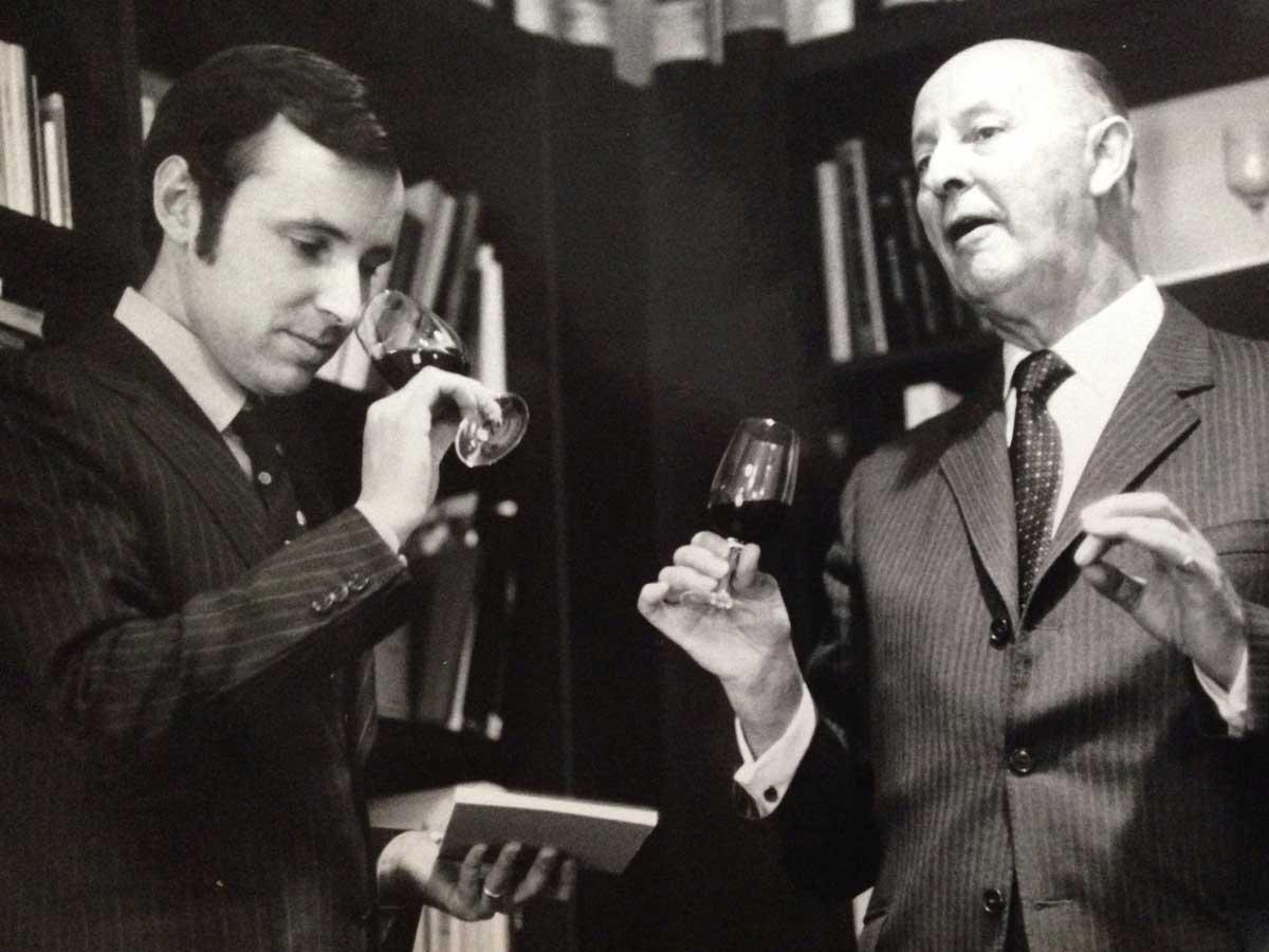 Rolf und Albert Reichmuth 1972