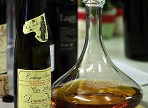 Vom Dekantieren von gutem Wein