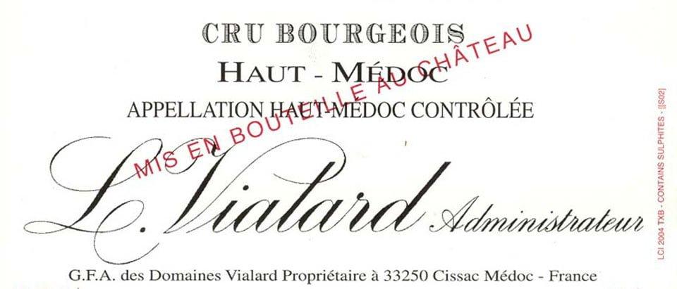 Etikette Château Cissac/Abiet