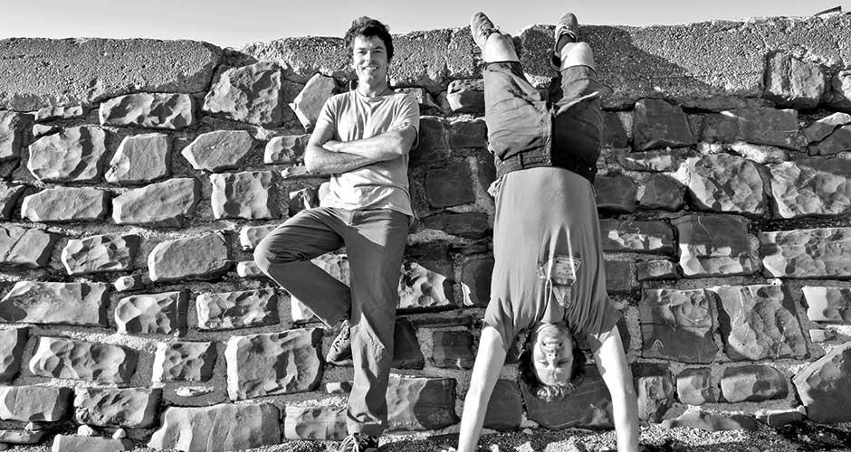 Konrad Pixner und Lukas Pfister von der Bergkellerei Passeier