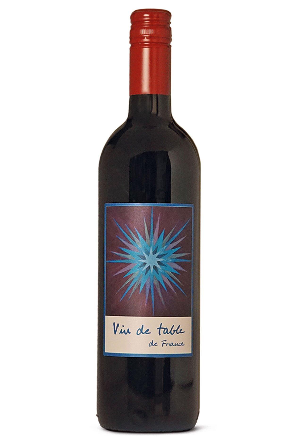 Vin de Table de France mit Etikette von Nadine Reichmuth