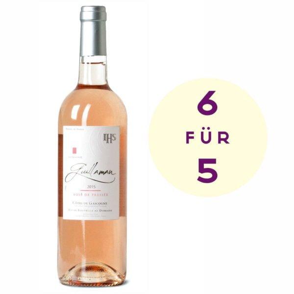 6 für 5 Rosé de Pressée
