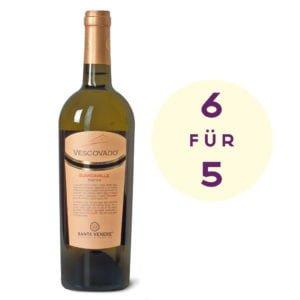 6 für 5 Vescovado Bianco