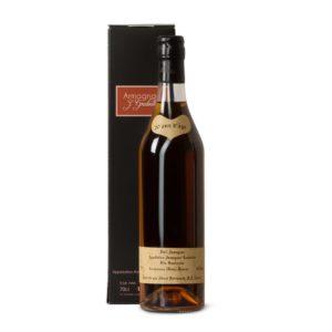 Weingeschenk Armagnac mit personalisierter Etikette aus der Vueve Goudoulin