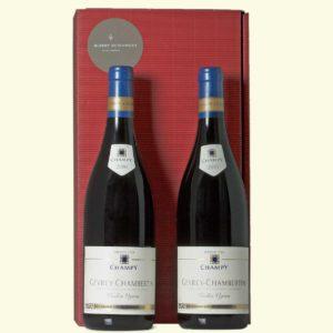 Weingeschenk 2 Flaschen Gevrey-Chambertin Maison Champy 2010