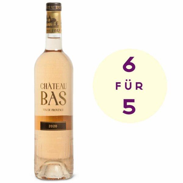 Château Bas 6 für 5